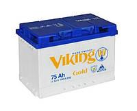 Аккумулятор Viking Gold 6СТ-75-А3 M7, R+