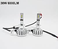 Комплект светодиодных ламп Aokemu H1 М6 35W (Лампы LED H1 для автомобиля)