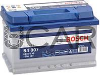 Bosch S4 007 Silver 72 Ah 680 A аккумулятор (-+, R), 2019 год (0092S40070)