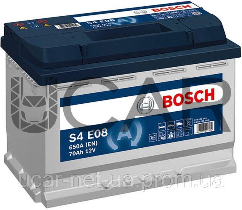 BOSCH 0092S4E081 BOSCH BATT S4 EFB 70AH