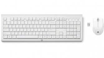 Комплект: клавиатура + мышь HP Combo C2710 white