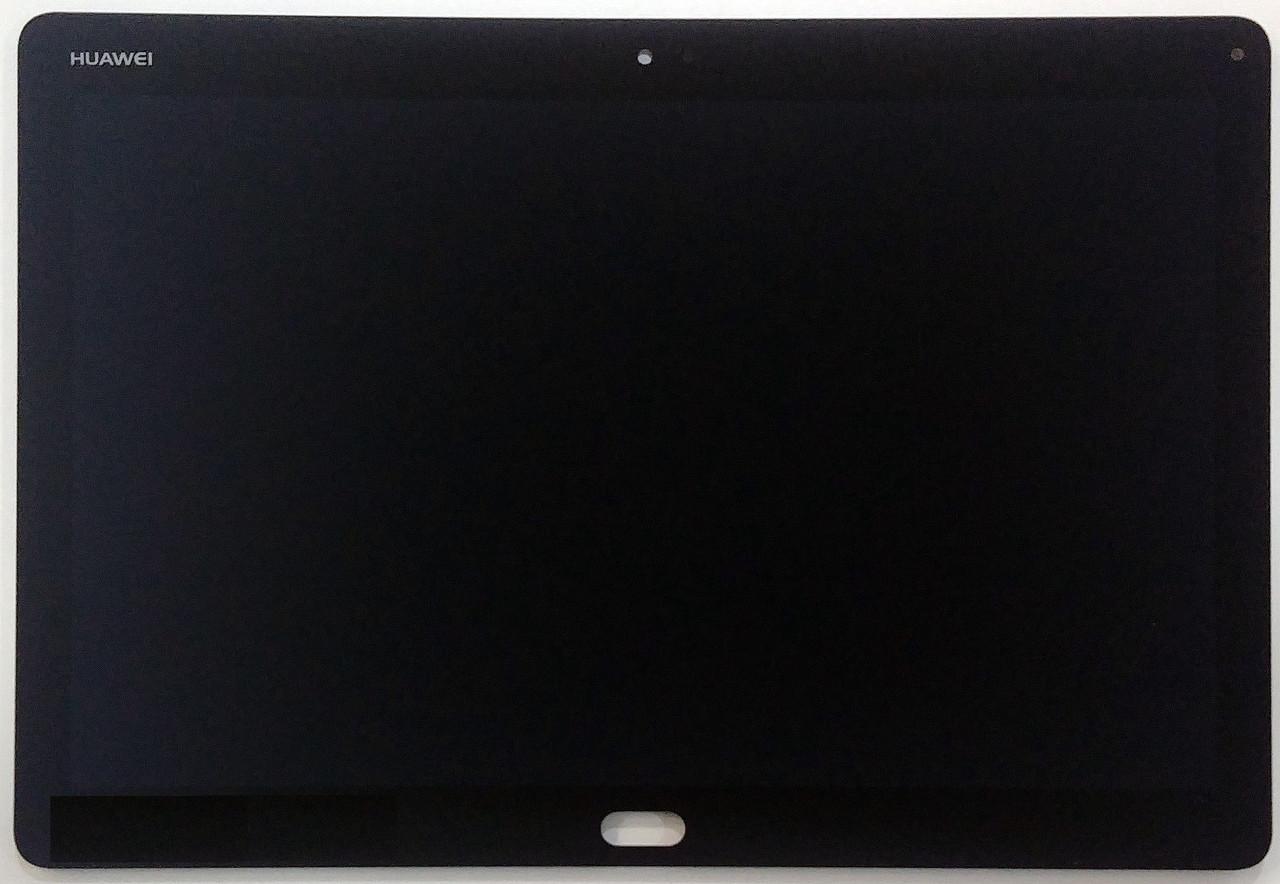 Дисплей (экран) для Huawei MediaPad M3 Lite 10 с сенсором (тачскрином) черный Оригинал