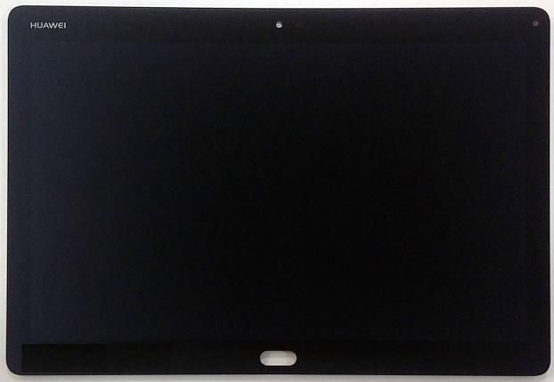 Дисплей (экран) для Huawei MediaPad M3 Lite 10 с сенсором (тачскрином) черный, фото 2