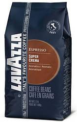 Кофе в зернах Lavazza Super Crema 1кг. Лавацца Супер Крема Оригинал, Италия!
