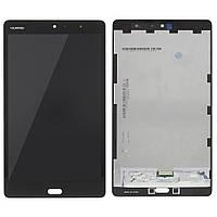 Дисплей (экран) для Huawei MediaPad M3 Lite 8 + с сенсором (тачскрином) черный Оригинал