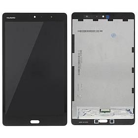 Екран (дисплей) для планшета Huawei MediaPad M3 Lite 8 (CPN-L09) з сенсором (тачскрін) чорний