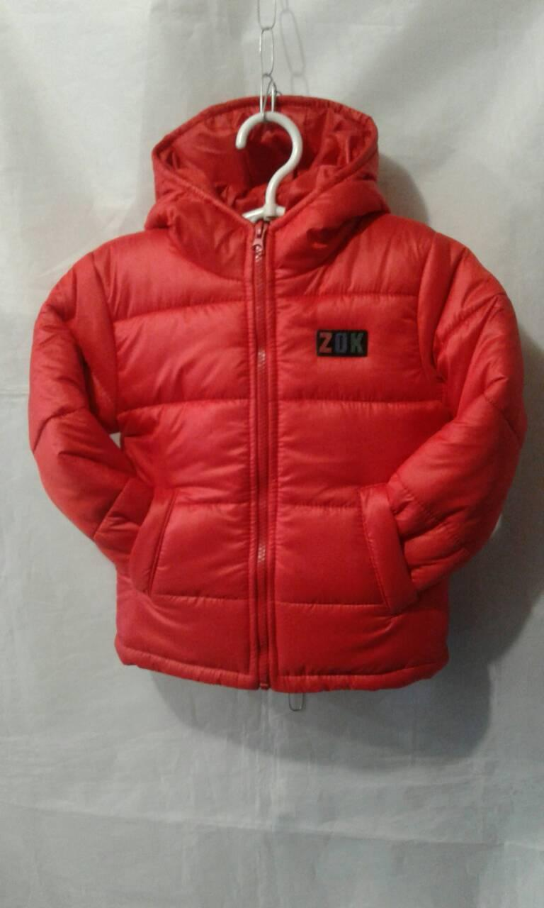 """Детская куртка  на мальчика """"ZOK"""" 92-116"""