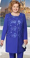 Жакет Ninele-5613/2 белорусский трикотаж, василек, 54