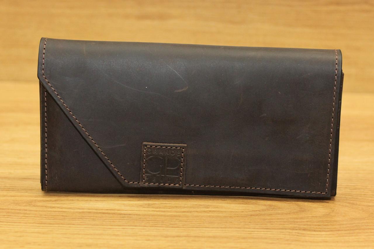 Кожаное портмоне фирмы Grande Pelle (13936)