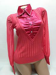 Рубашка женская обманка в Ассортименте от 10шт