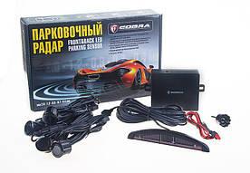 Парктроник Cobra LP-10140/LED/4 датчика D=18mm/коннектор/grey