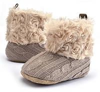 Пинетки зимние сапоги обувь детская зимняя осень зима мягкая подошва  пінетки зимові зимове взуття дитяче c7d4ce2e66ed8