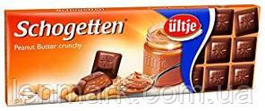 Молочный шоколад Schogetten  «Peanut Butter crunchy» (с арахисовым кремом) Felix 150 г