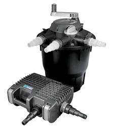 Набор фильтров HOZELOCK Bioforce 28000+Aquaforce 8000 black