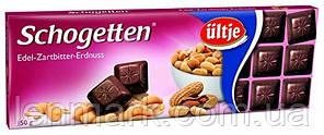Черный шоколад Schogetten  «Dark Chocalate with Peanuts» (с арахисом)  Felix 150 г