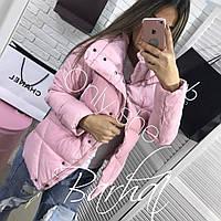 Женская куртка Плащевка + Синтепон 200,3 цвета,Размеры - 42-44, 44-46! мод 0238, фото 1