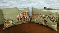 Подушки декоративные со съемным чехлом 50х35, фото 1
