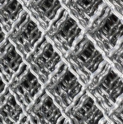 100x100x5,0 сетка канилированная оцинкованная