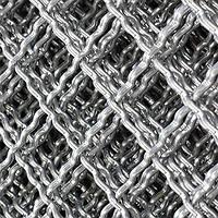 25x25x4,0 сетка канилированная оцинкованная, фото 1
