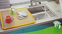 Сушка/сушилка/поддон для посуды и столовых приборов Hobby life, Турция 34*44 см (цвет уточняйте)