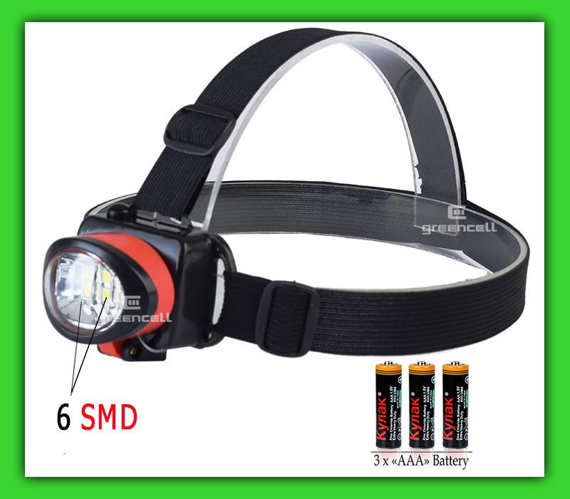 Налобный фонарик X-BALOG BL 539 6SMD 3 х ааа