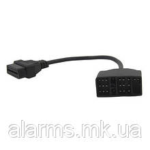 Адаптер подключения сканеров OBD II к автомобилям Toyota 22 pin