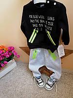 Теплый спортивный костюм  для мальчиков от 9 мес  до 2 лет опт и розница Турция, фото 1