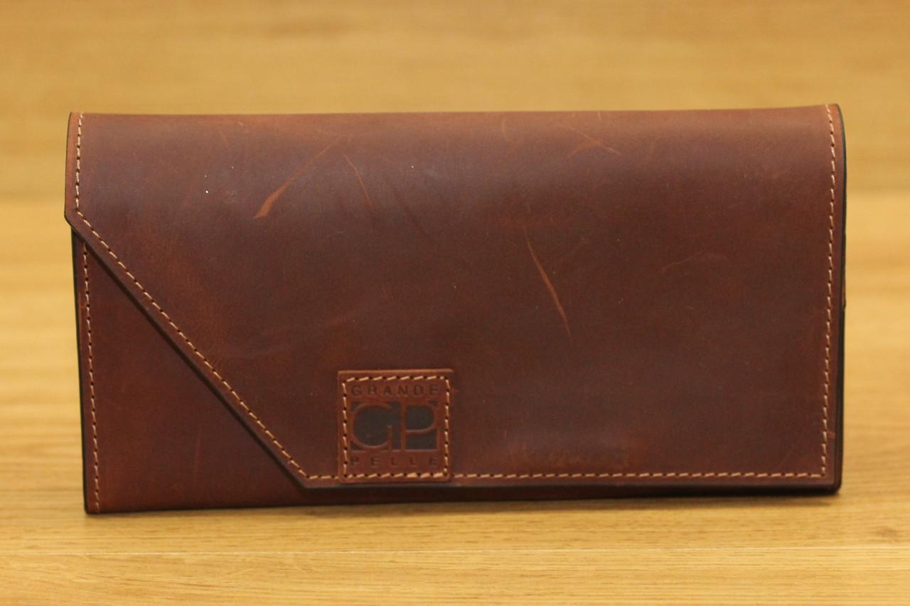 Кожаное портмоне фирмы Grande Pelle (13946)