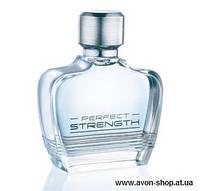Мужская туалетная вода Avon Perfect Strength туалетная вода 75 ml, перфект стенгч эйвон одекалон мужской