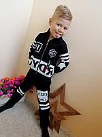 Теплый спортивный костюм  для мальчиков от 5  до 8 лет опт и розница Турция, фото 1