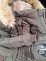Зимняя куртка для мальчика из водоотталкивающей плащевки Размеры 38- 44, фото 3