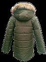 Зимняя куртка для мальчика из водоотталкивающей плащевки Размеры 38- 44, фото 2