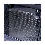 Коврики салона (резиновые, черные) avto-gumm Nissan Almera N16 (ниссан альмера) 2000-2005, фото 5