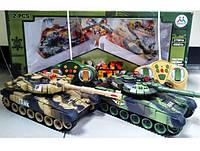 Танковый бой радиоуправление 9993-2РС размер 31 см, фото 1