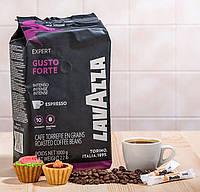 Кофе в зернах Lavazza Gusto Forte 100% Робуста 1кг. Лавацца Оригинал, Италия!