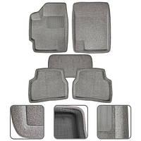Коврики 3D текстильные с бортами Hyundai Accent 06 grey