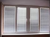 Жалюзи горизонтальные белые алюминиевые 25мм, фото 8