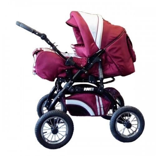 Trans Baby Коляска-трансформер Trans Baby Rover 11/16 Burgundy Metallic (TB.Ro.11/16)