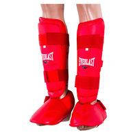 Защита ноги Ever, голень и стопа отдельно, размер S, M, L, красный, mod PU511R