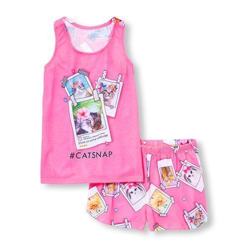 Легка піжамка Котики 3-4 роки