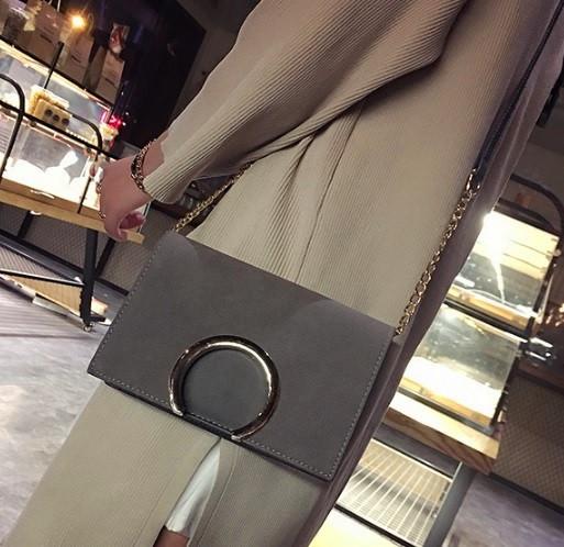 Сумка женская клатч через плечо Your Style Серый