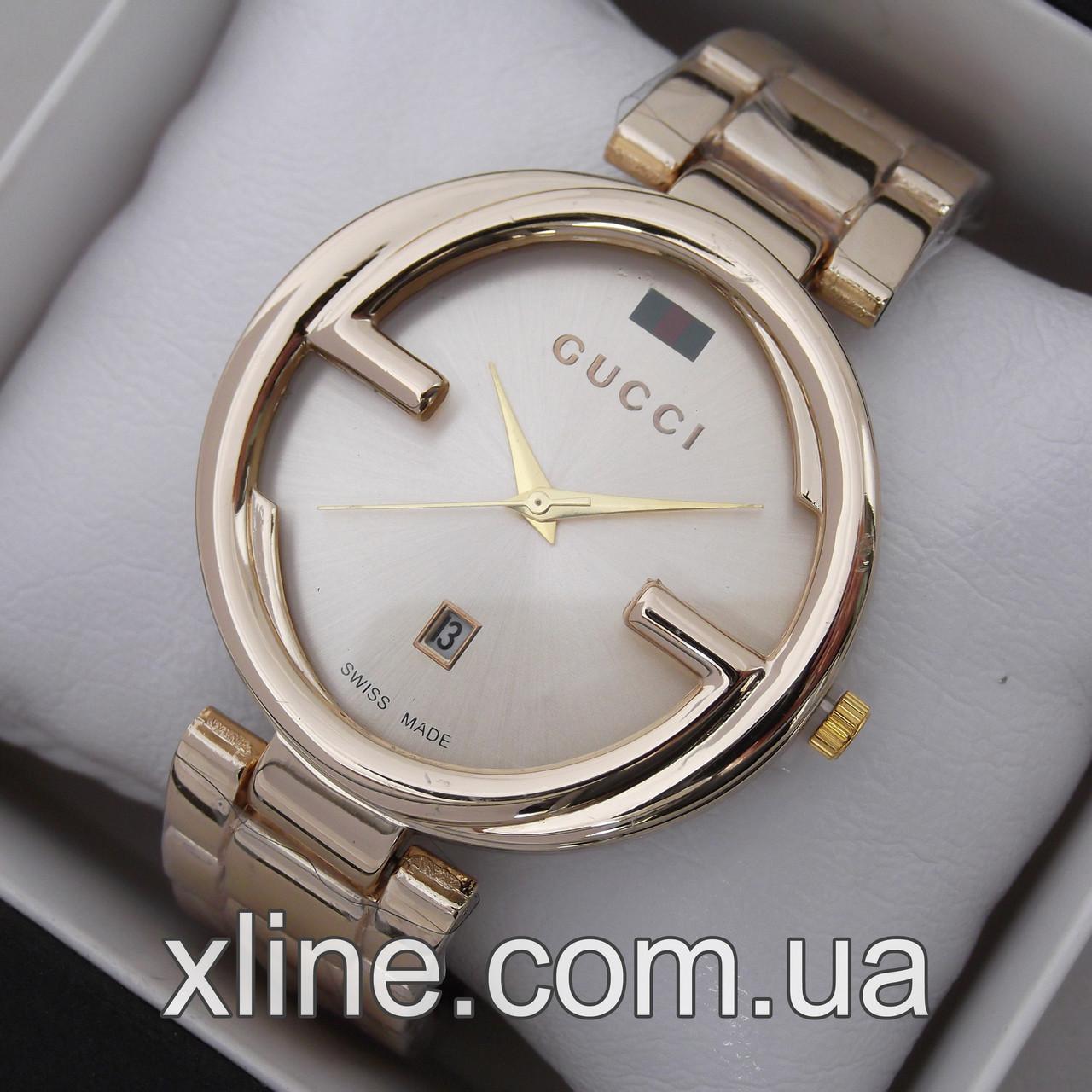 b77deb16 Женские наручные часы Gucci C19 на металлическом браслете: продажа ...