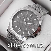 Женские наручные часы Gucci A79 на металлическом браслете