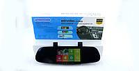 """Відеореєстратор автомобільний DVR CT600 дзеркало, циклічна, micro SD, 570 mAh, Android, 2,5 """", 1280х720 / 640х480 30к / сек, 120 град"""