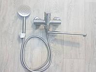 Смеситель нержавейка для ванны Gerts, фото 1