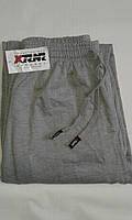 Спортивные штаны теплые унисекс р.50-52 прямые светло-серые. От 4шт по 69грн