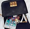 Женский клатч сумка через плечо в стиле Furla Синий, фото 7