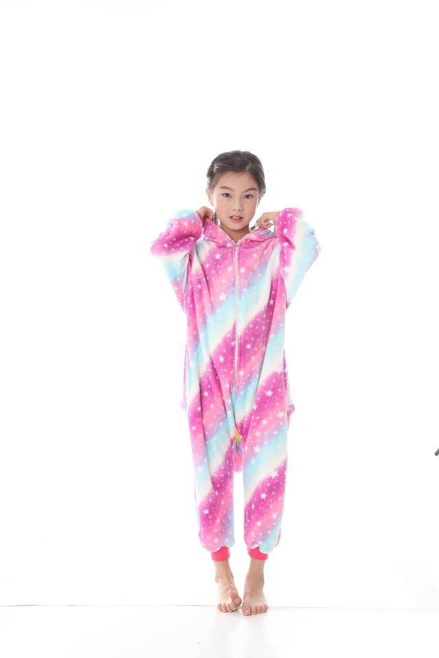 Пижама Кигуруми для Детей Единорог Розово-голубой — в Категории ... 124dfb866781f
