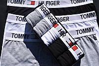Трусы мужские набор 5 шт серые черные синие боксеры от бренда Томми Хелфигер
