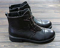 Кожаные ботинки на низком ходу Lonza, фото 1